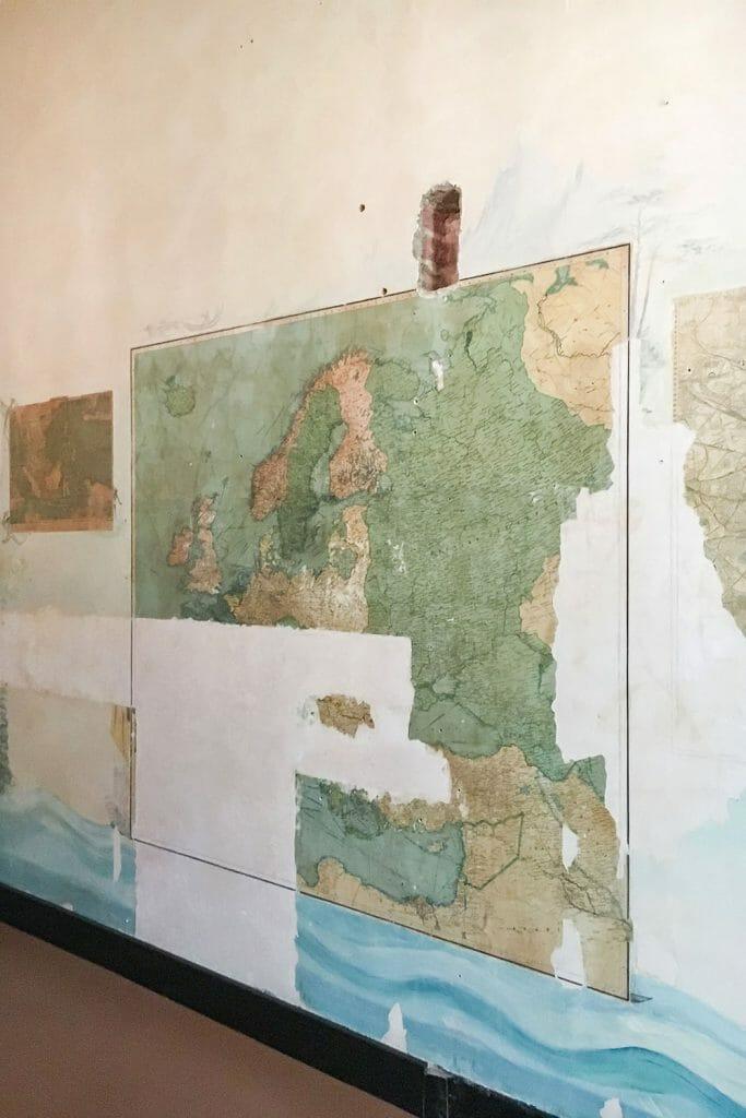 Eltham Palace Map Room London UK