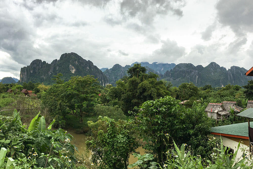 Vang Vieng Mountains, Laos