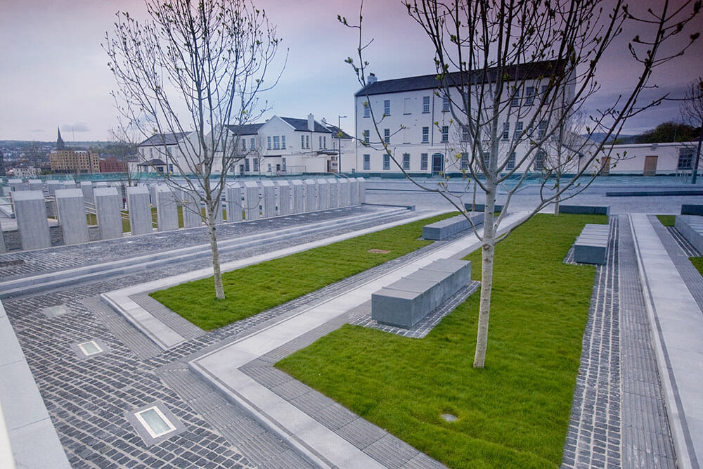 Ebrington Barracks Square Derry Northern Ireland Ulster Londonderry