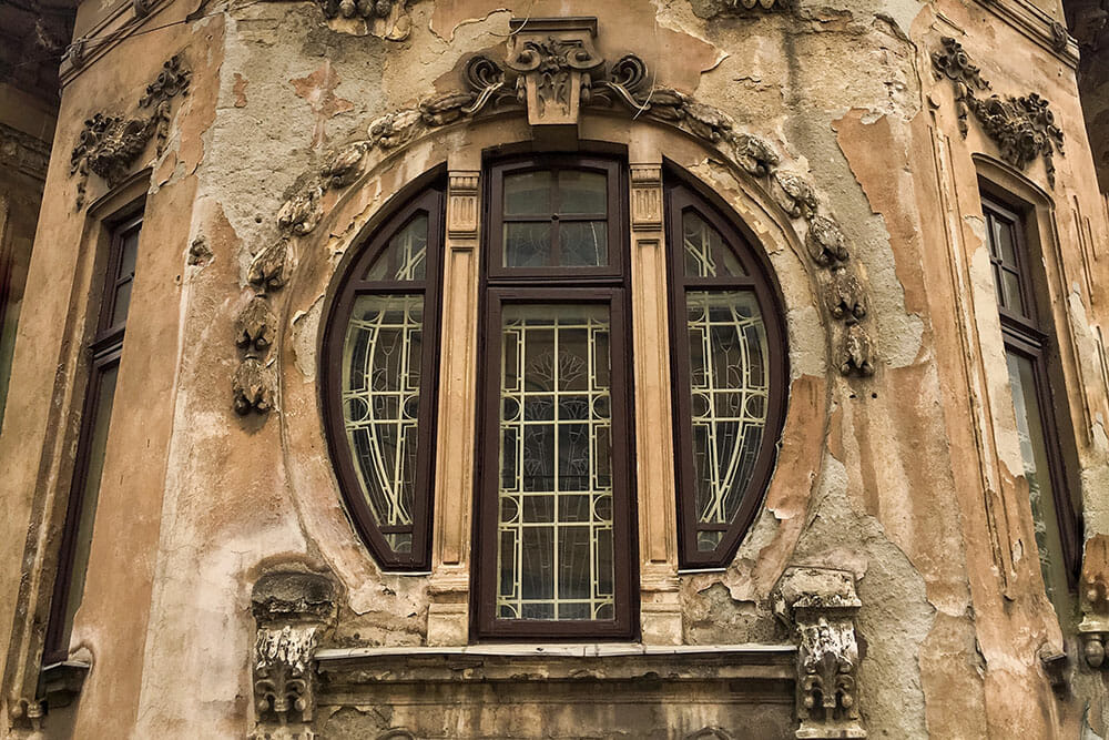 Bucharest Romania Architecture Window