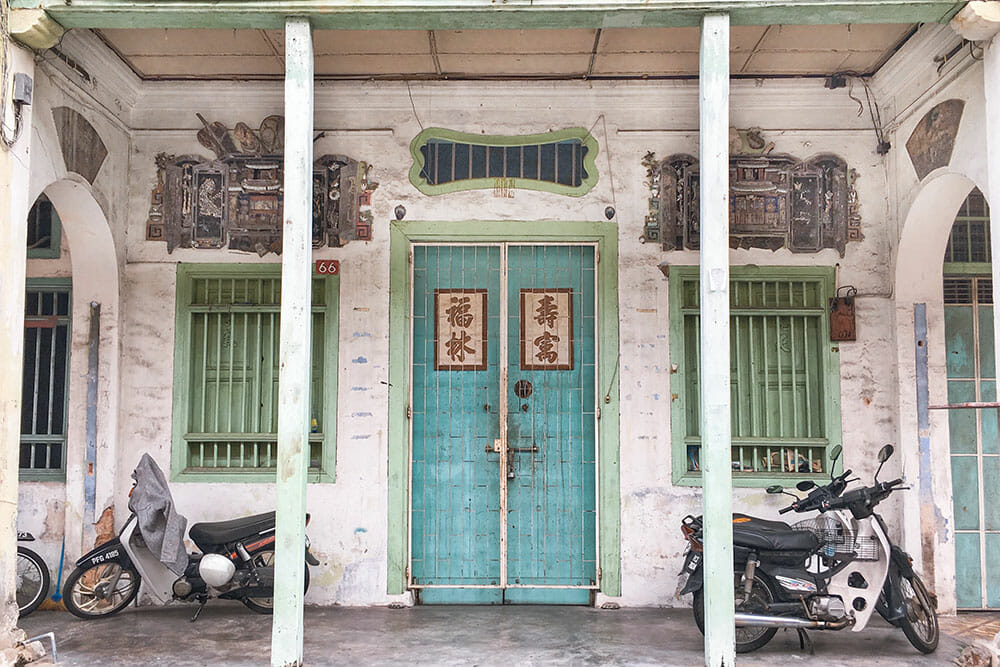 21 Cute Doors and Windows in Penang, Malaysia - Brogan Abroad