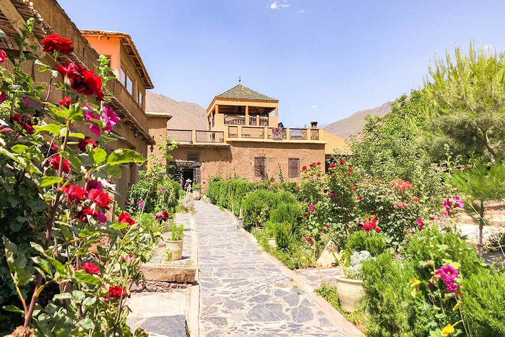 TRAVEL EXPERIENCE - STAYING AT A BERBER KASBAH IN THE ATLAS MOUNTAINS OF MOROCCO